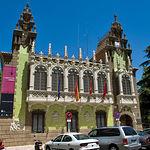Casa de Hortelano, sede del Museo de la Cuchillería de Albacete.