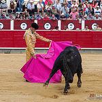 Fotos Rubén Pinar - Feria Taurina - Primer toro - 12-09-18