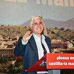José María Barreda, presidente de CLM, durante un mitin en las pasadas elecciones generales.