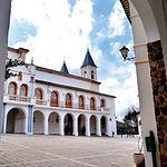 Imagen del Santuario de Nuestra Señora de Cortes, a seis kilómetros de Alcaraz.