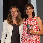 Patricia Sanz, vicepresidenta 2ª del Consejo General de la ONCE, junto a María José Sánchez, Coordinadora Autonómica de Trasplantes del SESCAM