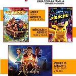Programación Filmoteca Feria 2019.