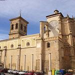 Iglesia Arciprestal de Santa María del Salvador (siglos XV y XVI), situada en la Plaza Mayor.