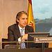El Presidente de la Federación Española de Municipios y Provincias (FEMP) y Alcalde de Santander, Iñigo de la Serna
