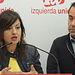 Sira Rego, Eurodiputada de IU, y Juan Ramón Crespo, Coordinador Regional de IU CLM,.