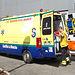 Ambulancia del SESCAM. Foto de Archivo.