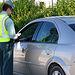 Un control de alcoholemia realizado por la Jefatura Provincial de Tráfico de la Guardia Civil de Albacete.