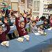 Desayuno con escolares.