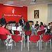 Serrano visita Banda de Cornetas y Tambores Nuestra Señora Virgen de Los Llanos.