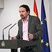 Pablo Iglesias, vicepresidente de Derechos Sociales y Agenda 2030 (Archivo). Foto: Europa Press 2020