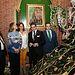 Cospedal visita los pasos del Cristo de Medinaceli y de la Virgen de la Esperanza. Foto: JCCM.