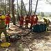 Efectivos INFOCAM y UME realizan practicas de actuación ante incendios forestales en Ayna