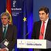Leandro Esteban y Echániz en la rueda de prensa del Consejo de Gobierno 3.jpg. Foto: JCCM.