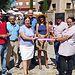 Flora Bellón inaugura el Mercado Rural de Aldenueva de San Bartolomé