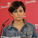 Fotografía de Isabel Rodríguez en rueda de prensa