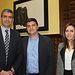 José Luis Fernández con el alcalde de Méntrida