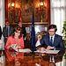 Romaní firma de un convenio sobre contratación electrónica con el Ministerio de Hacienda (2). Foto: JCCM.