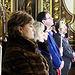 La Corporación Provincial en la Misa del Viernes de Dolores en la Ermita-Santuario de las Angustias.