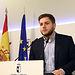 Toledo, 29-03-2017.- El portavoz del Gobierno regional, Nacho Hernando, informa de los acuerdos del Consejo de Gobierno, en el Palacio de Fuensalida. (Foto: Álvaro Ruiz // JCCM)