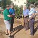 Alfonso Esteban comprueba los daños ocasionados en el municipio de Tórtola de Henares  tras la fuerte tormenta.