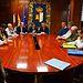 Reunión con regantes de Guadalajara. Foto: JCCM.