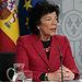La ministra de Educación y Formación Profesional, Isabel Celaá, en la rueda de prensa posterior al Consejo de Ministros. Foto: Pool Moncloa www.lamoncloa.gob.es