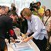 Cospedal registra formalmente su candidatura en la sede nacional de la formación en la calle Génova.