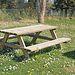 Mesa de picnic.