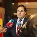 Paco Núñez en el transcurso de la reunión del GPP en las Cortes Regionales.