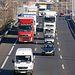 España lamenta las agresiones a camiones españoles en Francia. Imagen de archivo.
