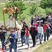 El vicepresidente primero ha asistido hoy en Villasviejas a la llegada de la imagen de la patrona de El Hito y la subida hasta el lugar en el que apareció la imagen