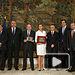 Cospedal recibe la cosideracion de Socia de Honor de la asociacion ANPTE. Foto: JCCM.