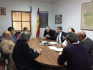 Reunión de trabajo en el Valle de Alcudia