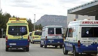 Ambulancias. Foto de Archivo.