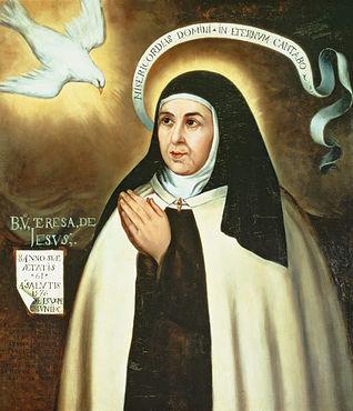 Pintura de Santa Teresa de Jesús. Archivo.