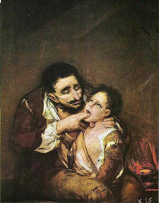 Lazarillo de Tormes visto por Francisco de Goya. Fuente: Wikipedia.