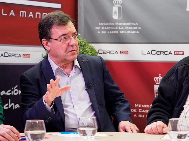 Francisco Molinero, ex diputado nacional del PP. Foto: Manuel Lozano García / La Cerca