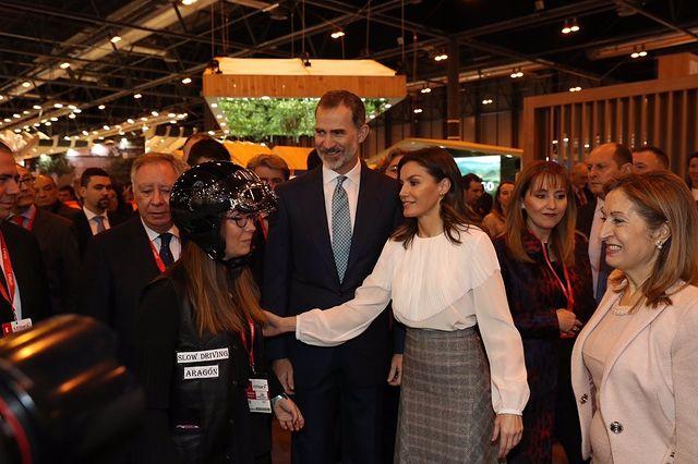 Los Reyes, en la inauguración de la 39ª edición de la Feria Internacional de Turismo-FITUR. Foto: Twitter @CasaReal