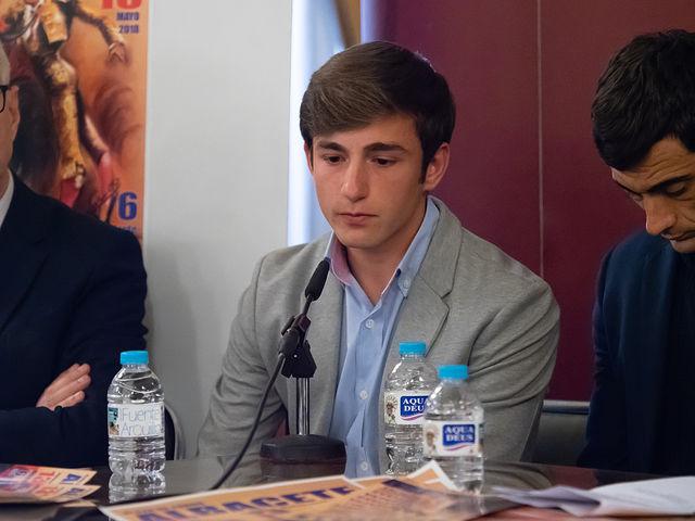 José Fernando Molina, alumno de la Escuela Taurina de Albacete