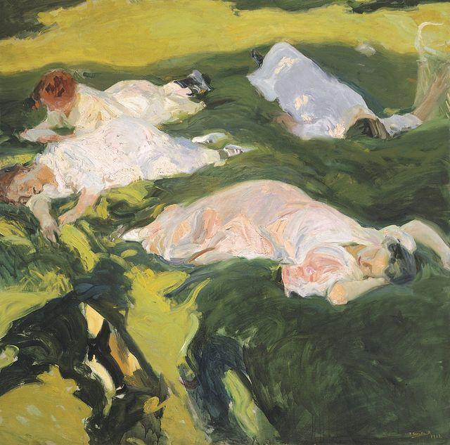 "Joaquín Sorolla - ""La siesta"" - 1911 - (c) Museo Sorolla"