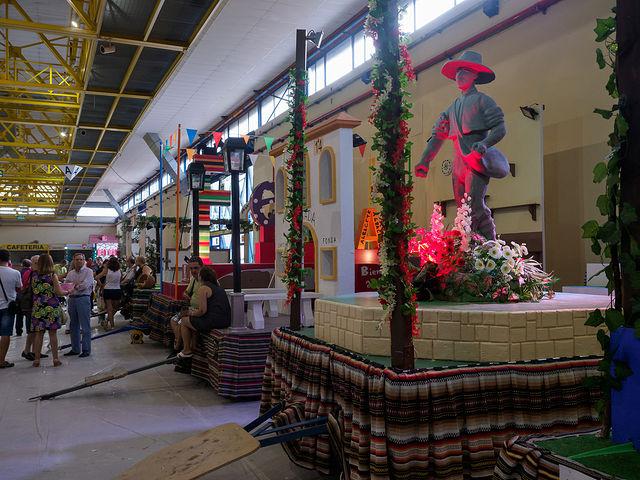 Carrozas que saldrán en la cabalgata de la Feria de Albacete 2018