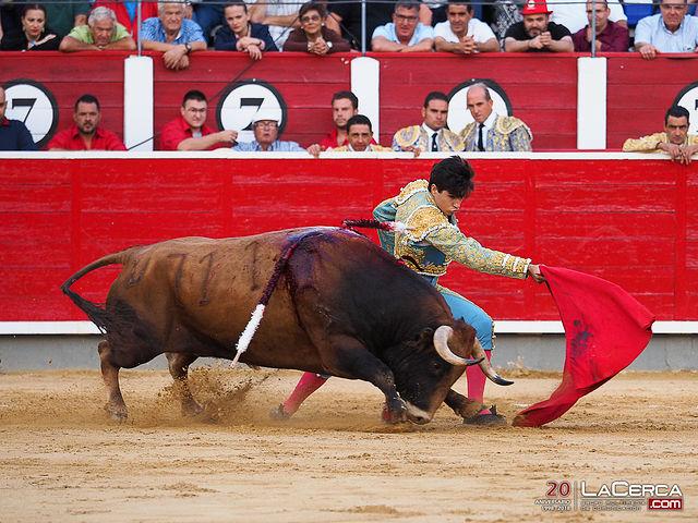 Álvaro Lorenzo - Segundo toro - Corrida 16-09-17