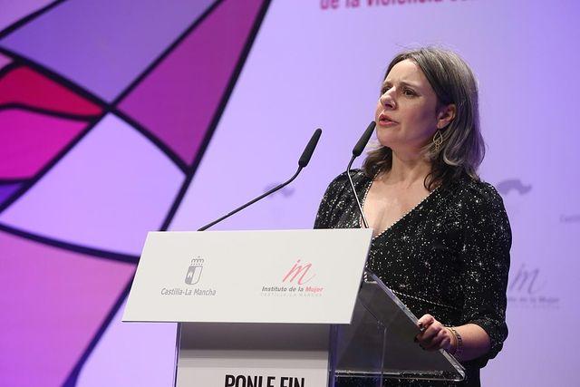 Araceli Martínez, directora del Instituto de la Mujer.