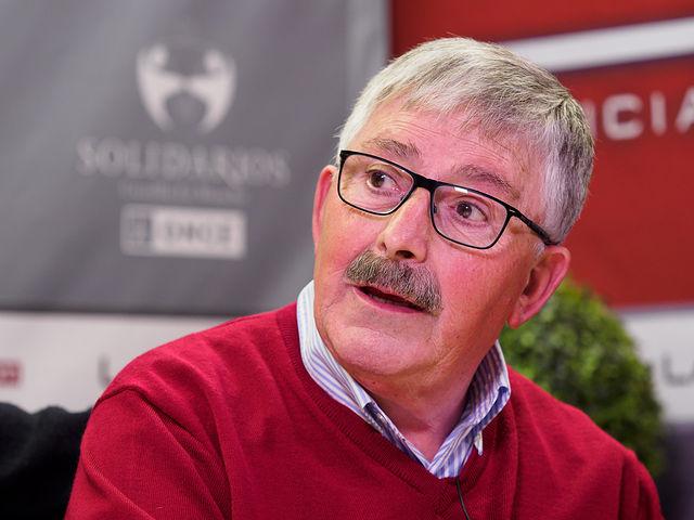 Juan Antonio Mata, exsindicalista y exfuncionario de Justicia. Foto: Manuel Lozano García / La Cerca