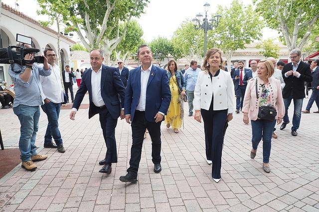 Entrega de los premios Pablo Iglesias que entrega el PSOE de Albacete en la Feria. Foto: La Cerca - Manuel Lozano Garcia