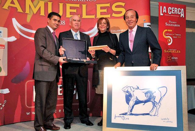 """El Premio Samueles al Toro más Bravo ha sido concedido a """"Improductivo"""", perteneciente a la ganadería Las Ramblas"""
