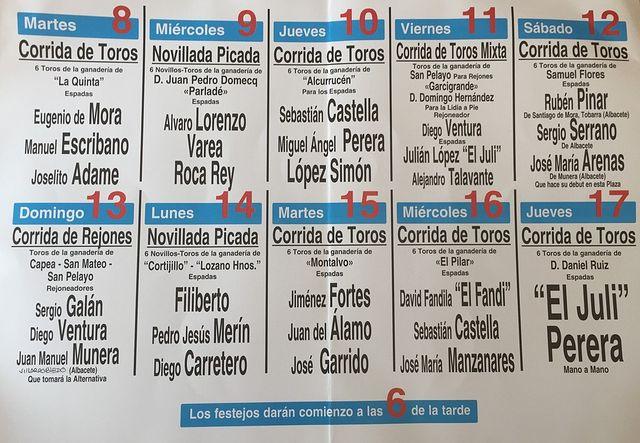 Cartel Feria Taurina 2015