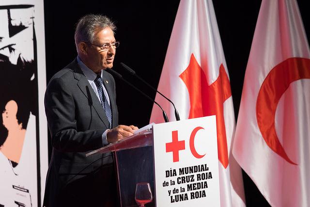 Javier Senent, presidente de Cruz Roja.