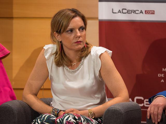 Genoveva Armero Simarro, presidenta de la Plaza