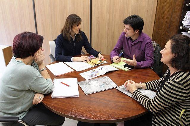 María Gil mantiene reuniones de trabajo con asociaciones de cooperación internacional